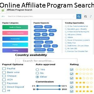 Learn Earn Wealthy Affiliate Online Affiliate Program Search Data