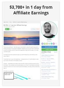 Learn Earn Wealthy Affiliate I Made 3700 dollars in one day